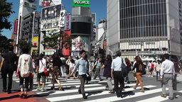 Tokyo Shibuya Japan 09 Footage