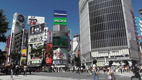 Tokyo Shibuya Japan 13 Stock Video Footage