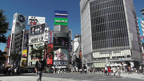 Tokyo Shibuya Japan 13 Footage