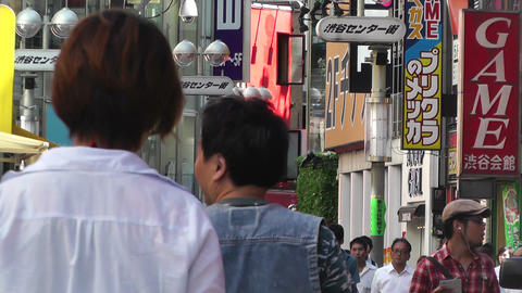 Tokyo Shibuya Japan 20 Stock Video Footage