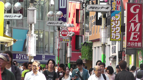 Tokyo Shibuya Japan 20 Footage