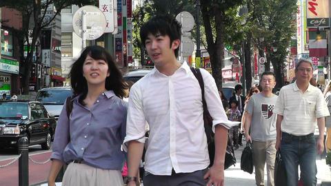Tokyo Shibuya Japan 22 Stock Video Footage