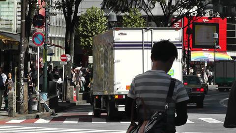 Tokyo Shibuya Japan 24 Stock Video Footage