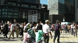Tokyo Station exterior Japan Footage