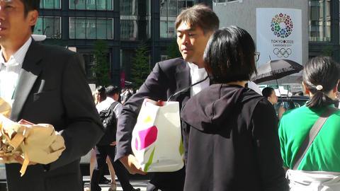 Tokyo station Japan 05 Stock Video Footage