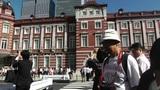Tokyo Station Japan 07 pan Footage