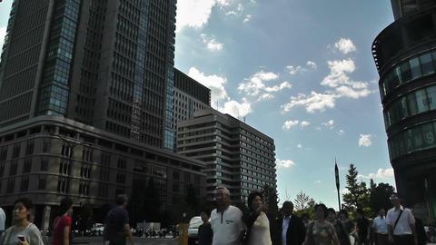 Tokyo Station Japan 09 Stock Video Footage