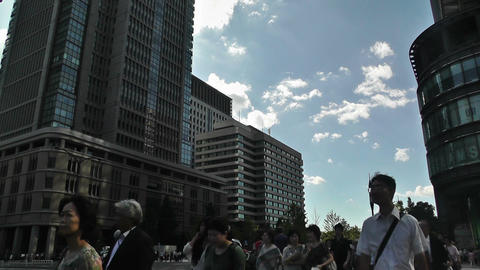 Tokyo Station Japan 09 Stock Video Footage