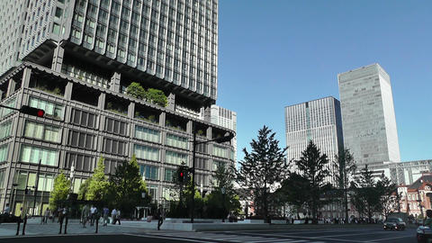 Tokyo Station Japan 13 Stock Video Footage