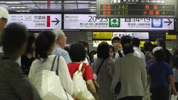 Tokyo Station Subway Japan 04 Stock Video Footage