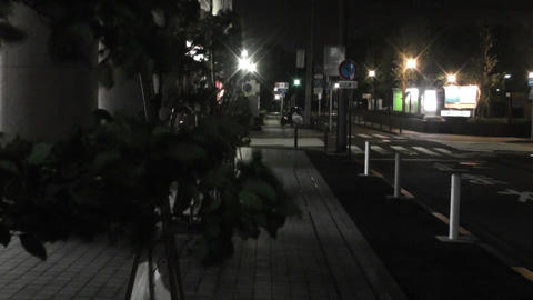 Typhoon in Yokohama Japan 13 handheld Stock Video Footage