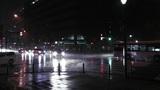 Typhoon Prewind in Yokohama Japan 02 handheld Footage