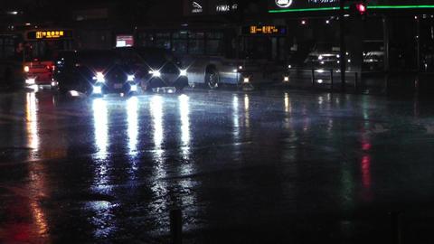 Typhoon Prewind in Yokohama Japan 04 handheld Stock Video Footage
