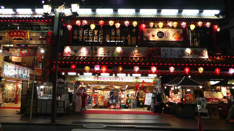 Yokohama China Town Japan 01 Stock Video Footage
