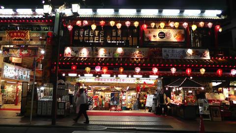 Yokohama China Town Japan 01 Stock Video Footage