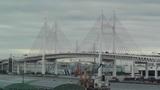 Yokohama Japan Metropolitan Expressway Bridge over the Bay 02 Footage