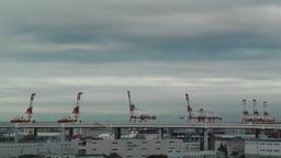 Yokohama Port Japan Stock Video Footage