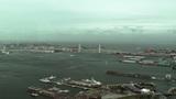 Yokohama Aerial Japan 06 Footage