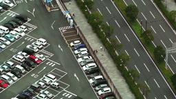 Yokohama Aerial Japan 19 Stock Video Footage