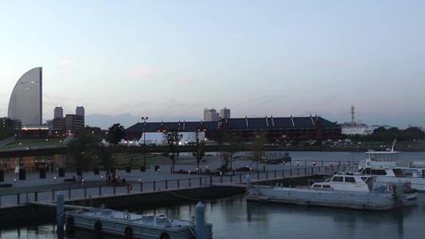 Yokohama Port Japan 03 Stock Video Footage