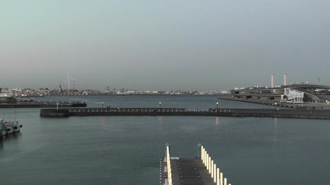 Yokohama Port Japan 05 Stock Video Footage