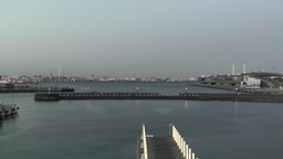 Yokohama Port Japan 05 Stock Video Footage