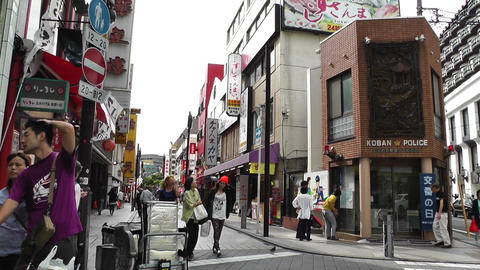 Yokohama Street Japan 02 Stock Video Footage
