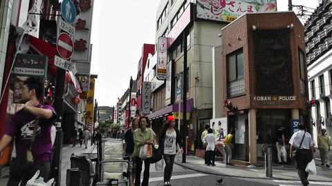 Yokohama Street Japan 02 Footage