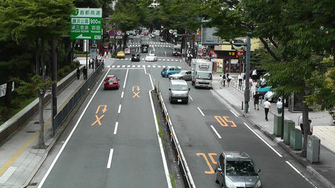 Yokohama Street Japan 04 Stock Video Footage