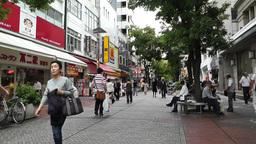 Yokohama Street Japan 03 Footage
