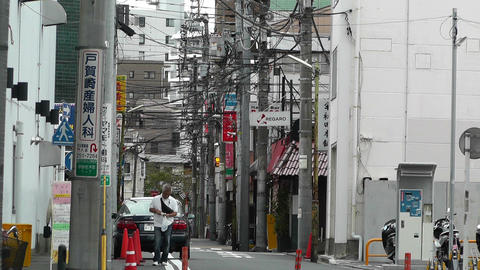 Yokohama Street Japan 12 Stock Video Footage