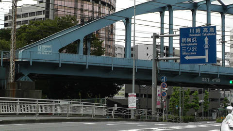 Yokohama Traffic Japan 02 Stock Video Footage