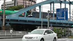 Yokohama Traffic Japan 02 Stock Video Footage
