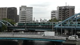Yokohama Commuter Train Traffic Japan Footage