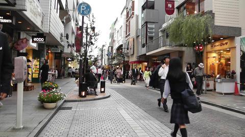 Yokohama Shopping Street Japan 03 Footage