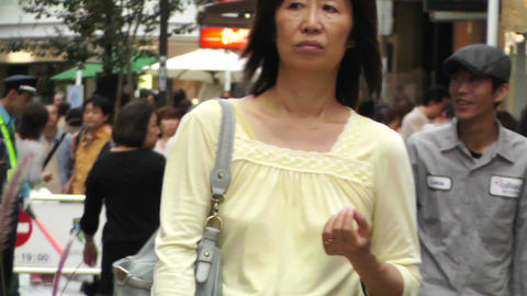 Yokohama Shopping Street Japan 05 Stock Video Footage
