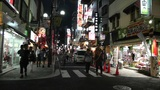 Yokohama Chinatown Street Japan night Footage