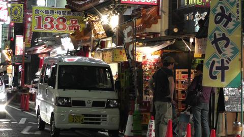 Yokohama Chinatown Street Japan 25 night Stock Video Footage