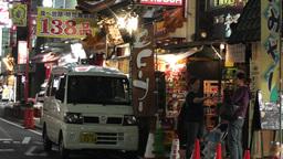 Yokohama Chinatown Street Japan 25 night Footage