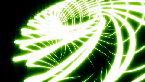 Looping Abstract Animated Background - Green Stock Video Footage