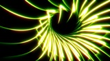 Looping Abstract Animated Background - Yellow Animation