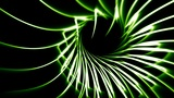 Looping Abstract Animated Background - Green Animation