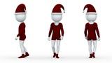 サンタ人形 Animation