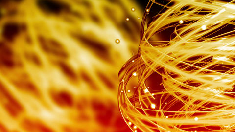Energy Light Streaks - Abstract Background 75 (HD) Stock Video Footage