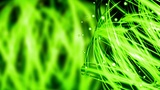 Green Nature Light Streaks - Abstract Background 77 (HD) Animation