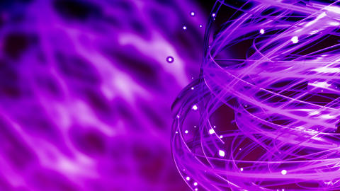 Purple Light Streaks - Abstract Background 79 (HD) Stock Video Footage