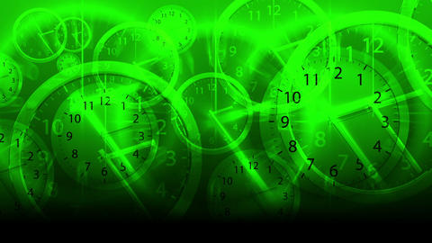 Time Flies Background - Clock 79 (HD) Stock Video Footage