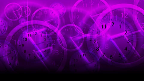 Time Flies Background - Clock 81 (HD) Stock Video Footage