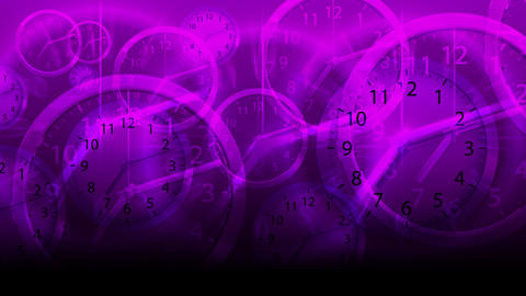 Time Flies Background - Clock 81 (HD) Animation