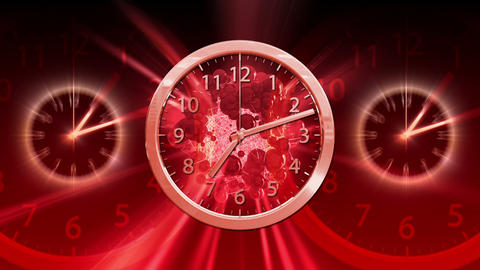 Passing Time Background - Clock 83 (HD) Animation
